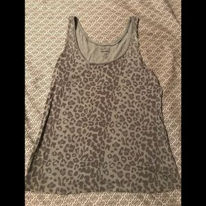 Tank Top with Sequin accent on shoulders